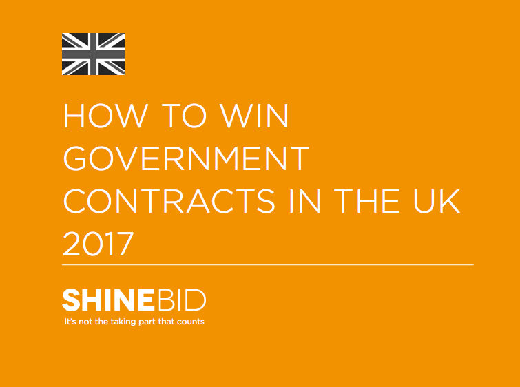'How to Win Government Contracts in the UK 2017' Shine Bid Services